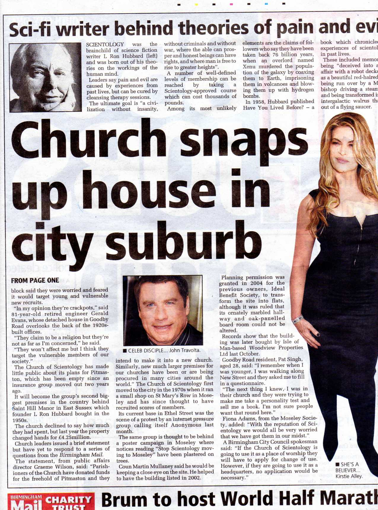 The CURSE of Scientology!